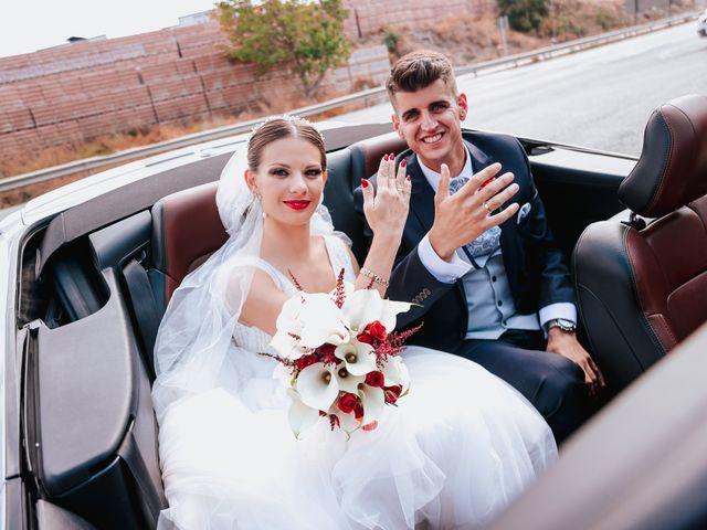 La boda de Ángel y Cristina en Granada, Granada 75