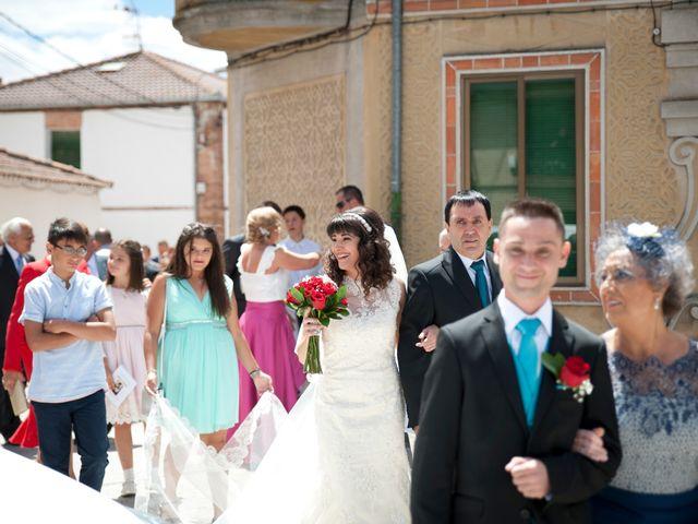 La boda de David y Elsa en Castellanos De Moriscos, Salamanca 14
