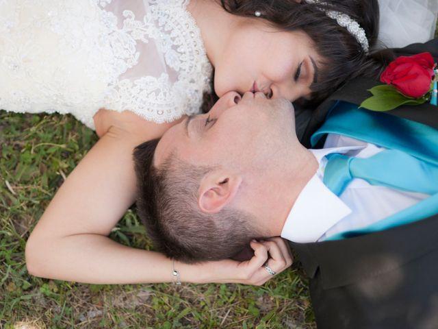La boda de David y Elsa en Castellanos De Moriscos, Salamanca 24