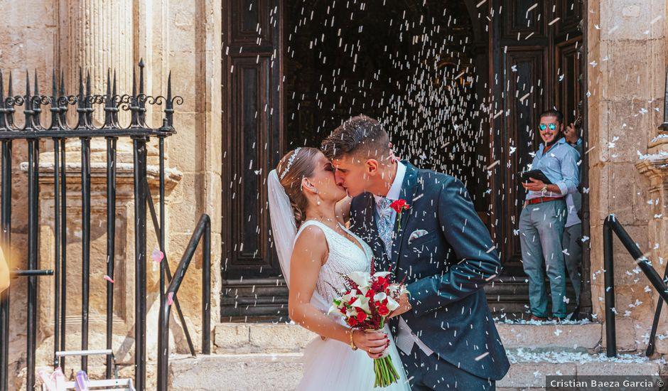 La boda de Ángel y Cristina en Granada, Granada