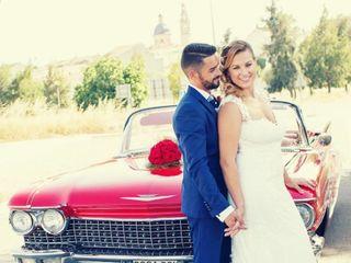La boda de Fernando Lorente  y Miriam Alfaro 1