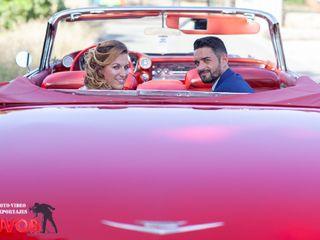 La boda de Fernando Lorente  y Miriam Alfaro