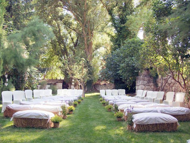 La boda de Ces y Sil en Villanubla, Valladolid 10
