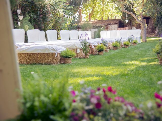 La boda de Ces y Sil en Villanubla, Valladolid 11