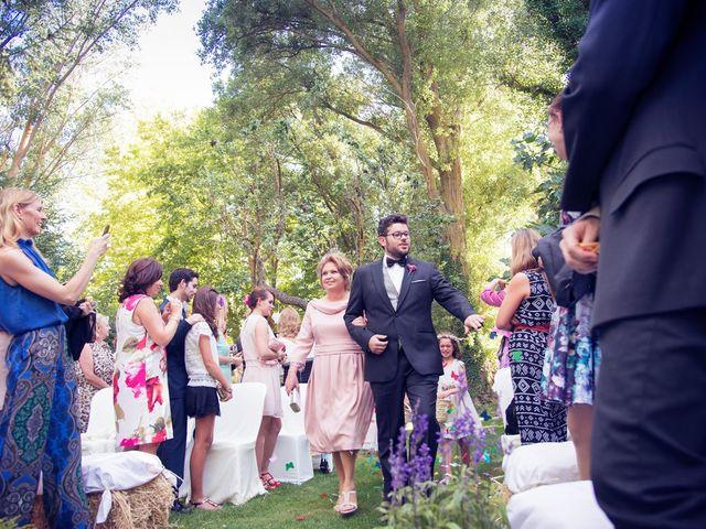 La boda de Ces y Sil en Villanubla, Valladolid 21