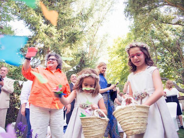 La boda de Ces y Sil en Villanubla, Valladolid 22
