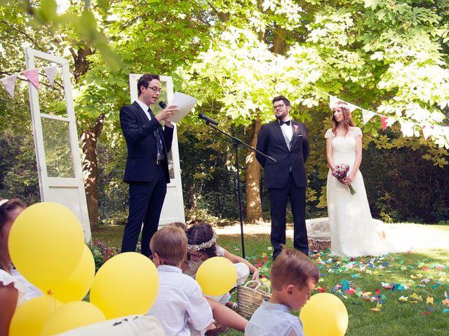 La boda de Ces y Sil en Villanubla, Valladolid 26