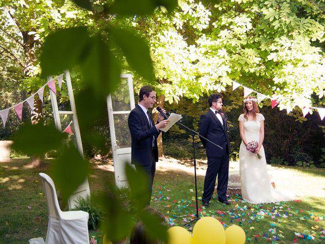 La boda de Ces y Sil en Villanubla, Valladolid 27