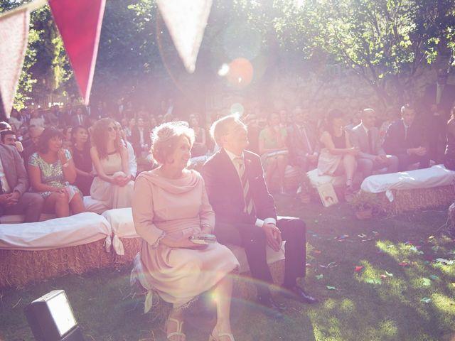 La boda de Ces y Sil en Villanubla, Valladolid 29