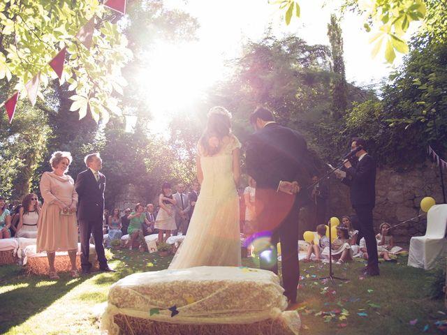 La boda de Ces y Sil en Villanubla, Valladolid 30