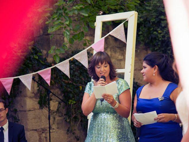 La boda de Ces y Sil en Villanubla, Valladolid 35