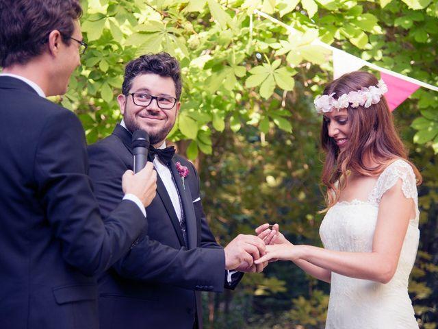 La boda de Ces y Sil en Villanubla, Valladolid 42
