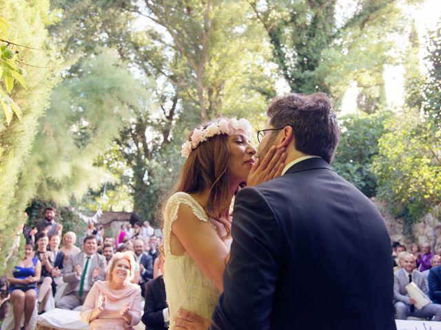 La boda de Ces y Sil en Villanubla, Valladolid 44