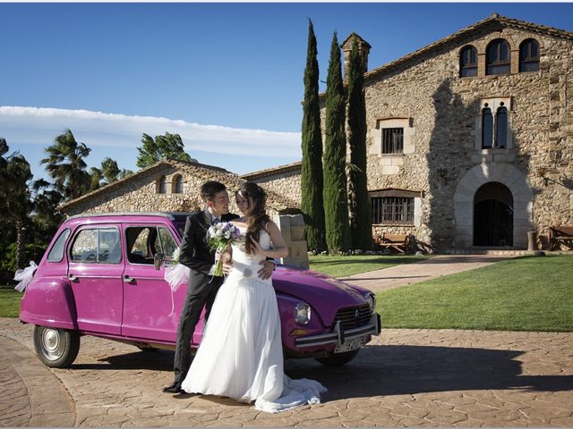 La boda de David y Alba en Girona, Girona 7