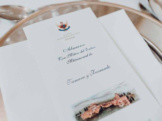 La boda de Fernando y Tamara en Granada, Granada 27