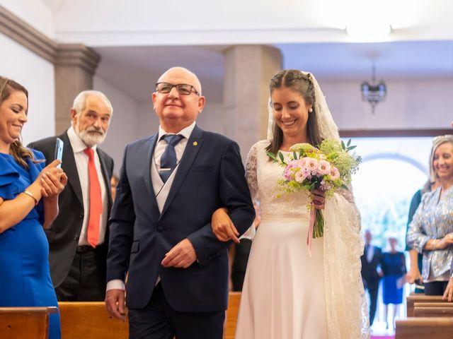 La boda de Javier y Lucia en O Castro (Barco De Valdeorras, O), Orense 21