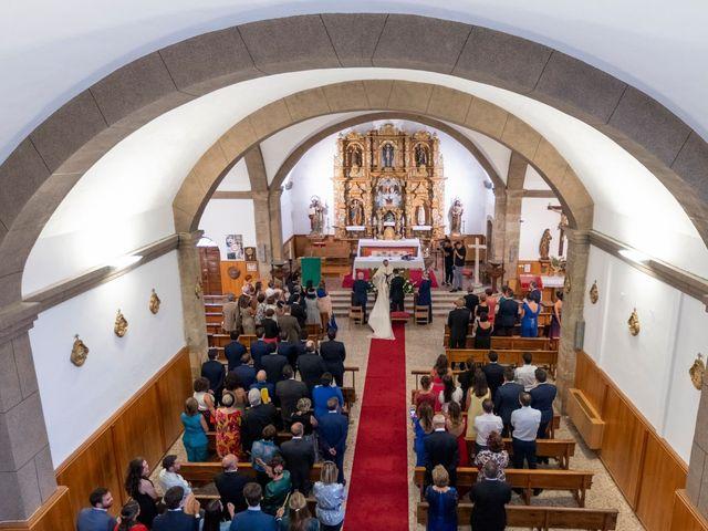 La boda de Javier y Lucia en O Castro (Barco De Valdeorras, O), Orense 22