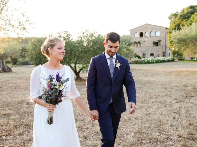 La boda de Gerard y Claudia en Pontos, Girona 1