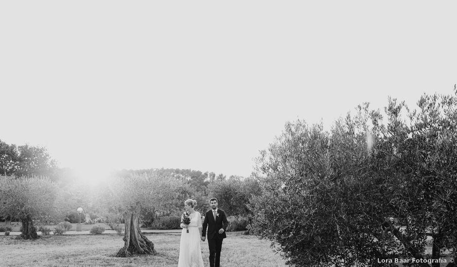 La boda de Gerard y Claudia en Pontos, Girona