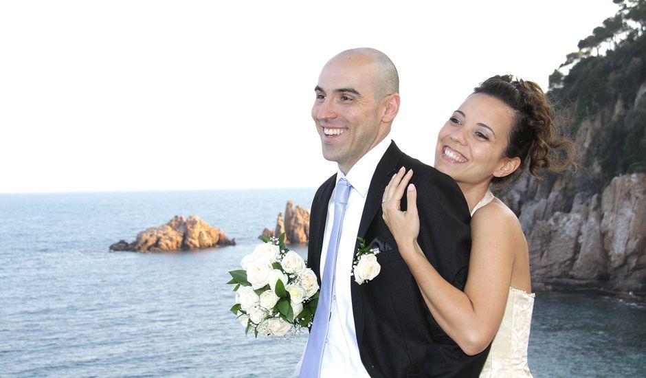 La boda de Cristina y Ivan en Blanes, Girona