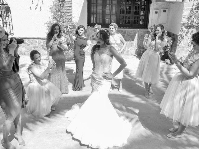 La boda de Fidel y Zoraya en Alora, Málaga 41