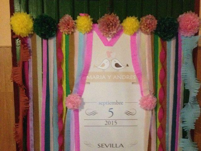 La boda de Andrés y María en Sevilla, Sevilla 12