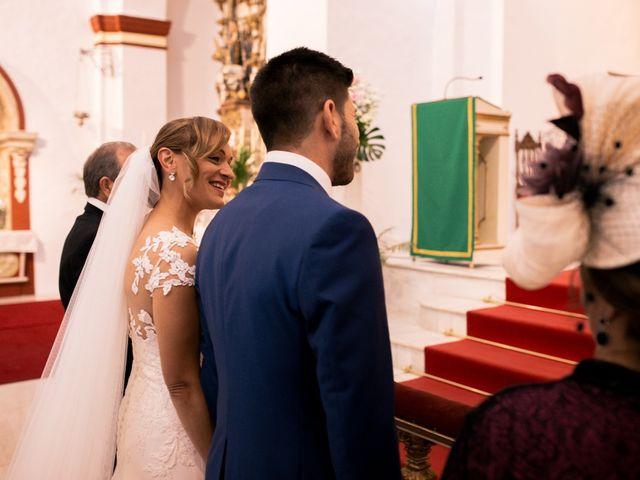 La boda de Jose María y Vanesa en Villanueva Del Fresno, Badajoz 25