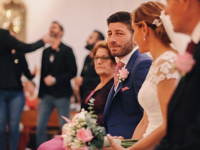 La boda de Jose María y Vanesa en Villanueva Del Fresno, Badajoz 27