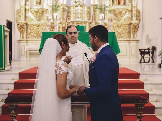 La boda de Jose María y Vanesa en Villanueva Del Fresno, Badajoz 30