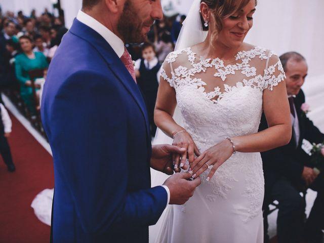 La boda de Jose María y Vanesa en Villanueva Del Fresno, Badajoz 31