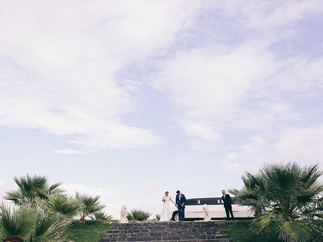 La boda de Jose María y Vanesa en Villanueva Del Fresno, Badajoz 41