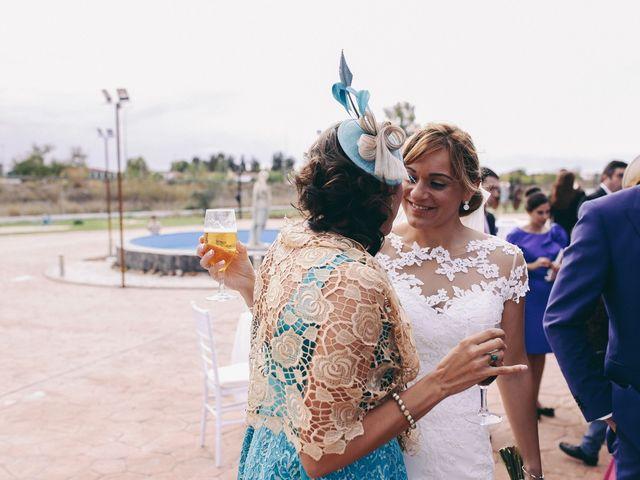 La boda de Jose María y Vanesa en Villanueva Del Fresno, Badajoz 43
