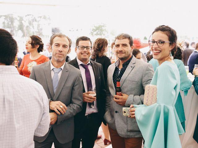 La boda de Jose María y Vanesa en Villanueva Del Fresno, Badajoz 47