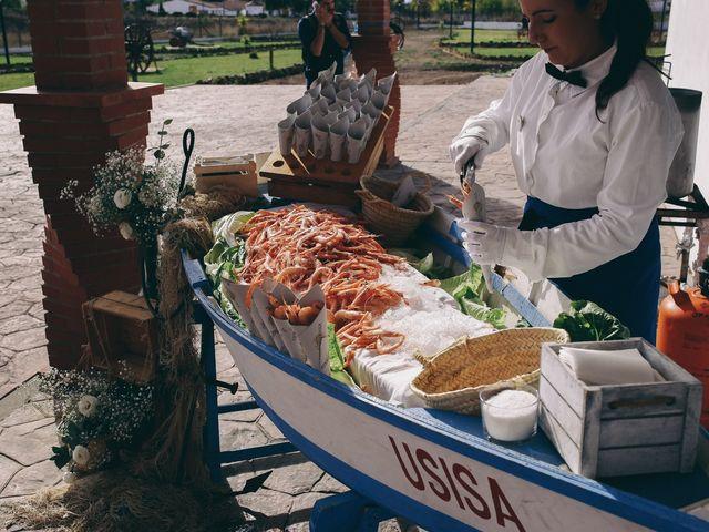La boda de Jose María y Vanesa en Villanueva Del Fresno, Badajoz 52