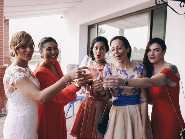 La boda de Jose María y Vanesa en Villanueva Del Fresno, Badajoz 54