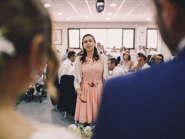 La boda de Jose María y Vanesa en Villanueva Del Fresno, Badajoz 55