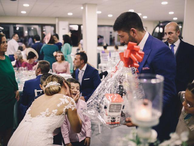 La boda de Jose María y Vanesa en Villanueva Del Fresno, Badajoz 61
