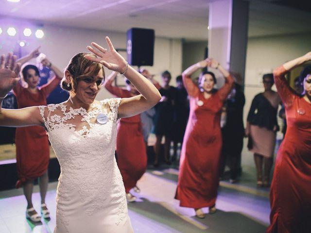 La boda de Jose María y Vanesa en Villanueva Del Fresno, Badajoz 64