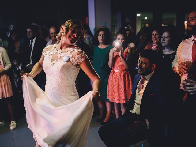 La boda de Jose María y Vanesa en Villanueva Del Fresno, Badajoz 65