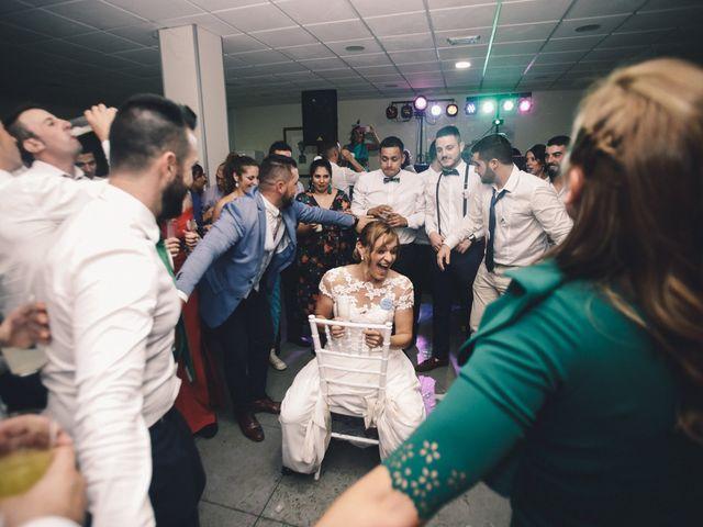 La boda de Jose María y Vanesa en Villanueva Del Fresno, Badajoz 71