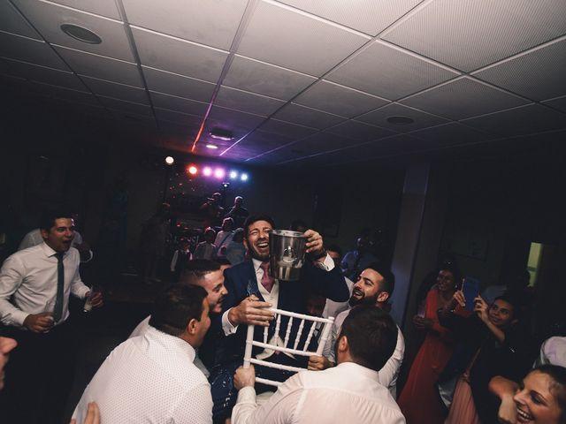 La boda de Jose María y Vanesa en Villanueva Del Fresno, Badajoz 74