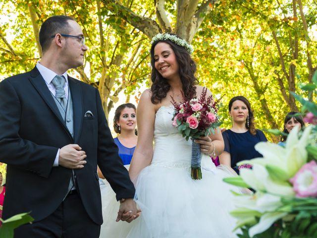 La boda de Pedro y Sara en La Carlota, Córdoba 16