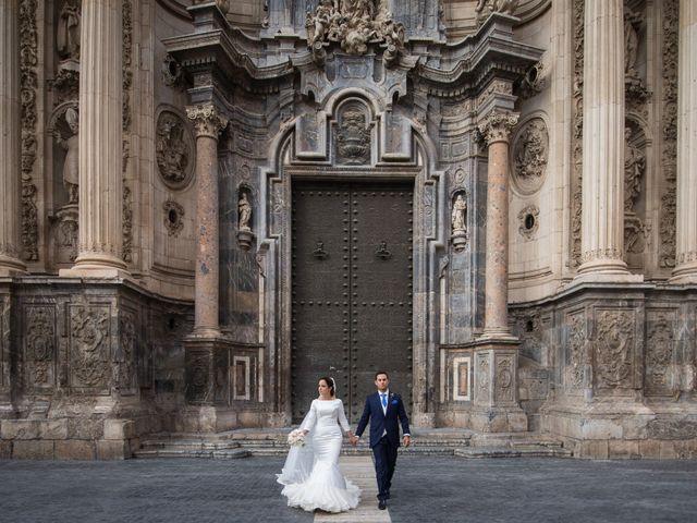 La boda de Eloy y Paola en Santomera, Murcia 61