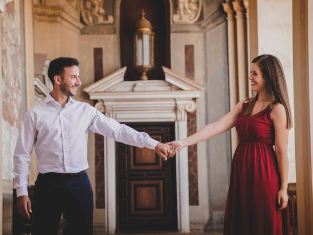 La boda de Carlos y Irene en Carrion De Calatrava, Ciudad Real 10