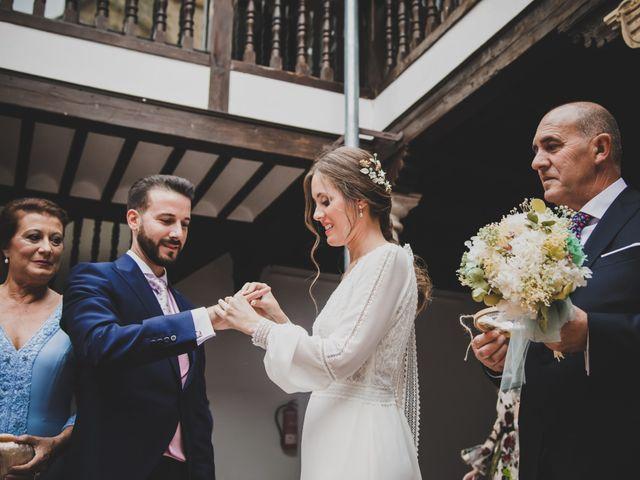 La boda de Carlos y Irene en Carrion De Calatrava, Ciudad Real 72