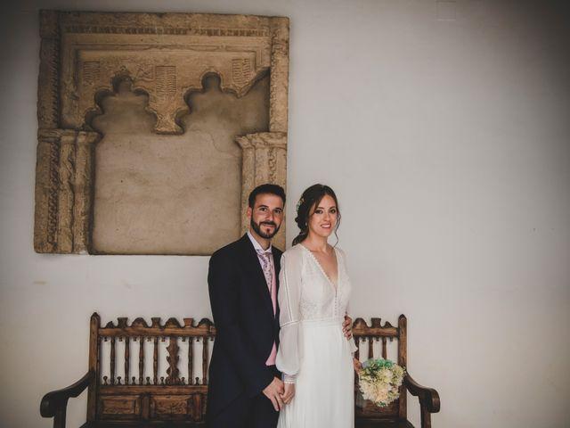 La boda de Carlos y Irene en Carrion De Calatrava, Ciudad Real 82