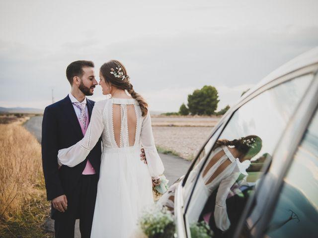 La boda de Carlos y Irene en Carrion De Calatrava, Ciudad Real 87