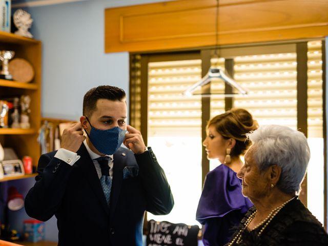 La boda de Cristina y Diego en Monforte de Lemos, Lugo 14