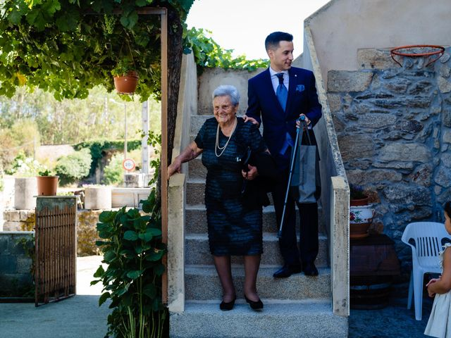 La boda de Cristina y Diego en Monforte de Lemos, Lugo 15