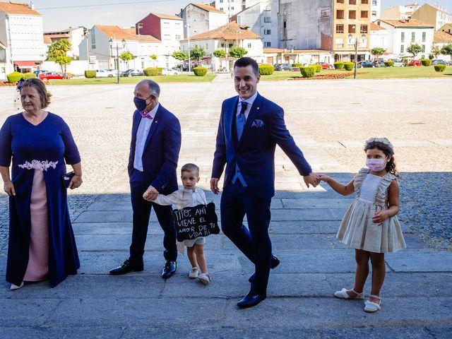 La boda de Cristina y Diego en Monforte de Lemos, Lugo 38